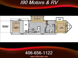 New 2016  Forest River XLR Nitro 35VL5 by Forest River from I-90 Motors & RV in Billings, MT