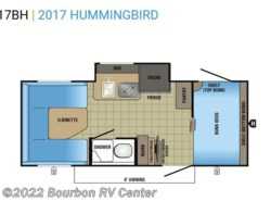 New 2017  Jayco Hummingbird 17BH by Jayco from Bourbon RV Center in Bourbon, MO