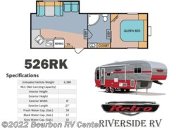 New 2017  Riverside RV Retro 526RK by Riverside RV from Bourbon RV Center in Bourbon, MO