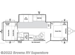 Used 2008  Keystone Springdale 296BHG by Keystone from Brown's RV Superstore in Mcbee, SC