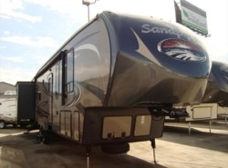 New 2015  Forest River Sandpiper 365SAQB by Forest River from Camperland Trailer Sales in Conroe, TX