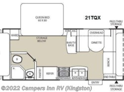 Used 2014  Coachmen Freedom Express 21TQX by Coachmen from Campers Inn RV in Kingston, NH