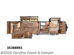 New 2016  Miscellaneous  Open Range RV 3X 388RKS  by Miscellaneous from Carolina Coach & Marine in Claremont, NC