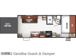 New 2017  Forest River Cherokee Grey Wolf 19RR by Forest River from Carolina Coach & Marine in Claremont, NC