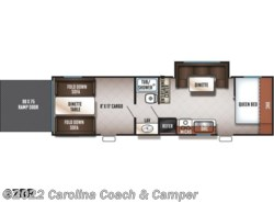 New 2017  Forest River Cherokee Grey Wolf 27RR by Forest River from Carolina Coach & Marine in Claremont, NC