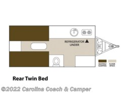 New 2017  Aliner Expedition Twin Bed by Aliner from Carolina Coach & Marine in Claremont, NC