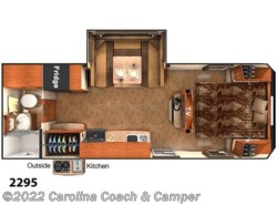 New 2017  Lance  Travel Trailers 2295 by Lance from Carolina Coach & Marine in Claremont, NC