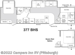 Used 2005  Keystone Sprinter 377BHS by Keystone from Campers Inn RV in Ellwood City, PA