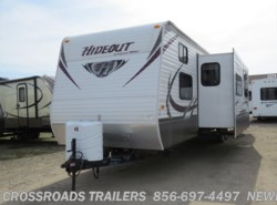 Used 2013  Keystone Hideout 38BHDS by Keystone from Crossroads Trailer Sales, Inc. in Newfield, NJ