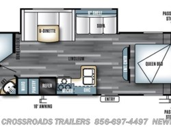 New 2017  Forest River Salem Cruise Lite 263BHXL by Forest River from Crossroads Trailer Sales, Inc. in Newfield, NJ