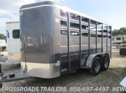 New 2016 Delta 500 Series 16' Bumper Pull Stock Trailer 7' Tall available in Newfield, New Jersey