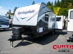 New 2017  Keystone Springdale West 258rlwe by Keystone from Curtis Trailers in Portland, OR
