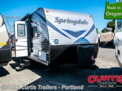 New 2018  Keystone Springdale West 202QBWE by Keystone from Curtis Trailers in Portland, OR