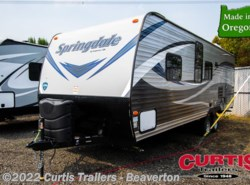 New 2019 Keystone Springdale West 260TBWE available in Beaverton, Oregon
