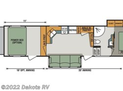 New 2017  K-Z Sidewinder 3511DK by K-Z from Dakota RV in Rapid City, SD