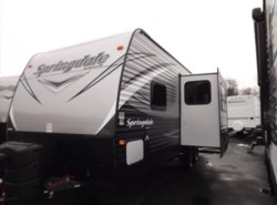 New 2017  Keystone Springdale 235RB by Keystone from Diamond RV Centre, Inc. in West Hatfield, MA