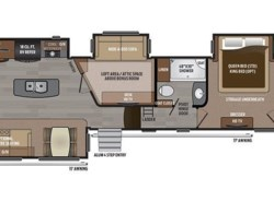 New 2018  Keystone Montana 3950BR by Keystone from Diamond RV Centre, Inc. in West Hatfield, MA