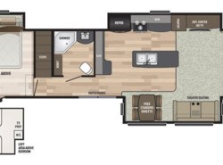 New 2018  Keystone Residence 40LOFT by Keystone from Diamond RV Centre, Inc. in West Hatfield, MA