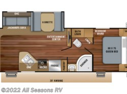 New 2019  Jayco Jay Feather 27RL by Jayco from All Seasons RV in Muskegon, MI