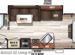 New 2017  Forest River Cherokee Grey Wolf 26DBH by Forest River from EZ Living RV in Braidwood, IL