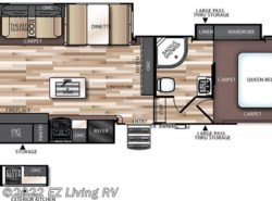 New 2017  Forest River Salem Hemisphere Lite 29RLSHL by Forest River from EZ Living RV in Braidwood, IL