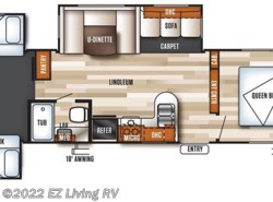 New 2018  Forest River Salem 31KQBTS by Forest River from EZ Living RV in Braidwood, IL