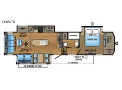 New 2018  Jayco North Point 315RLTS by Jayco from Fretz  RV in Souderton, PA