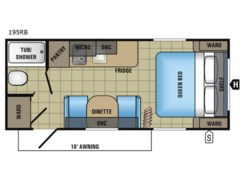 Used 2018  Jayco Jay Flight SLX 195RB by Jayco from Fretz  RV in Souderton, PA