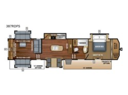 New 2018  Jayco North Point 387RDFS by Jayco from Fretz  RV in Souderton, PA