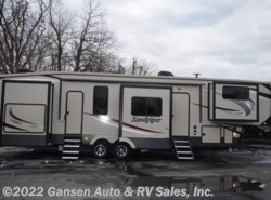 New 2019  Forest River Sandpiper 38FKOK by Forest River from Gansen Auto & RV Sales, Inc. in Riceville, IA