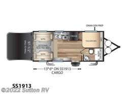 New 2017  Forest River Stealth SS1913 by Forest River from George Sutton RV in Eugene, OR