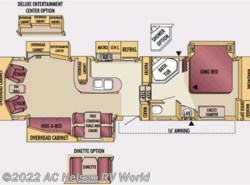 Used 2007  Jayco Designer 34RLQS by Jayco from AC Nelsen RV World in Omaha, NE