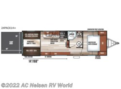 New 2018  Forest River Cherokee Wolf Pack 24PACK14+ by Forest River from AC Nelsen RV World in Omaha, NE