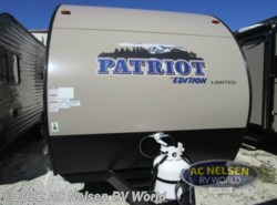 Used 2017  Forest River  Patriot Edition 16BHS by Forest River from AC Nelsen RV World in Omaha, NE