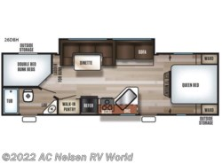 New 2019  Forest River  Patriot Edition 26DBH by Forest River from AC Nelsen RV World in Omaha, NE