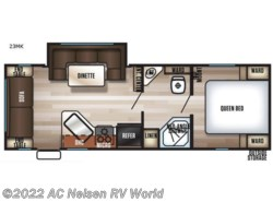 New 2019  Forest River Cherokee Grey Wolf 23MK by Forest River from AC Nelsen RV World in Omaha, NE