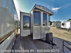 New 2017  Forest River Sandpiper Destination 385FKBH by Forest River from Gillette's RV in East Lansing, MI