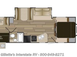 New 2018  Cruiser RV Shadow Cruiser 280QBS by Cruiser RV from Gillette's Interstate RV, Inc. in East Lansing, MI