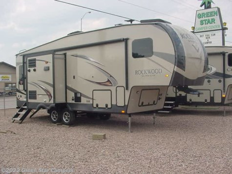 2019 Forest River Rockwood Ultra Lite 2620WS Rear Living Room