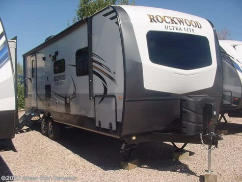 2019 Forest River Rockwood Ultra Lite 2606WS Front Bedroom