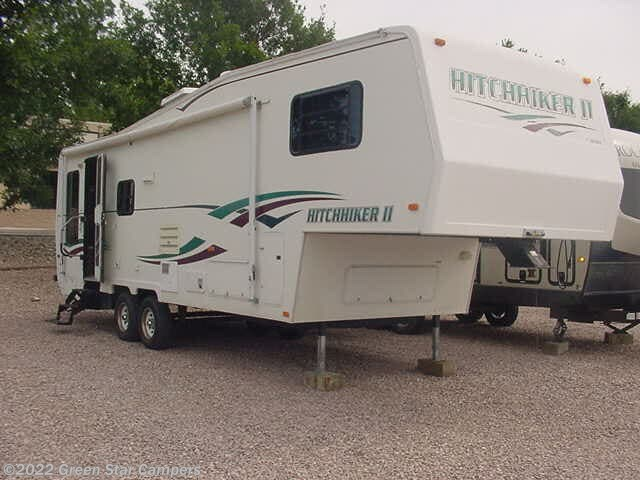 1999 Nu-Wa Hitchhiker II 285RL Rear Living Room - Stock #3095