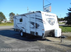 Used 2014  Palomino Canyon Cat 17QBC Bunks - Fr. Queen by Palomino from HW Motor Homes, Inc. in Canton, MI