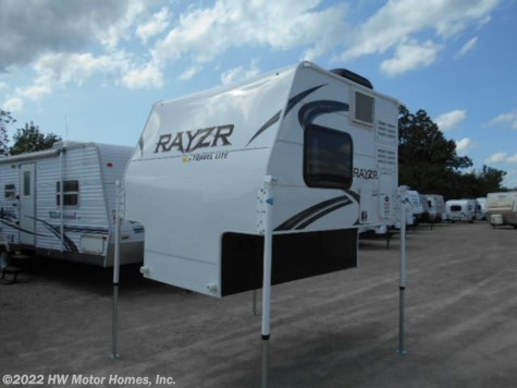2019 Travel Lite Rayzr F B   Front  Bed