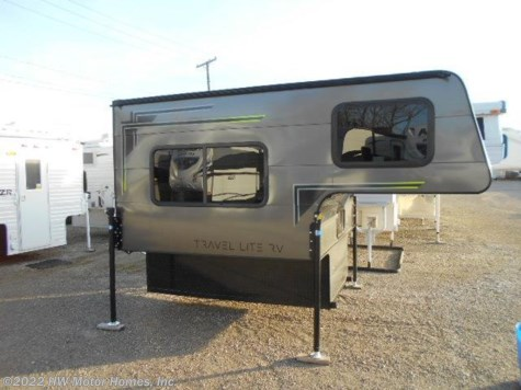 2018 Travel Lite Truck Campers Super  Lite  700 - Sofa - CHARCOAL