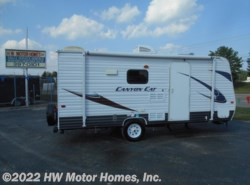 Used 2014 Palomino Canyon Cat 17QBC Bunks - Fr. Queen available in Canton, Michigan