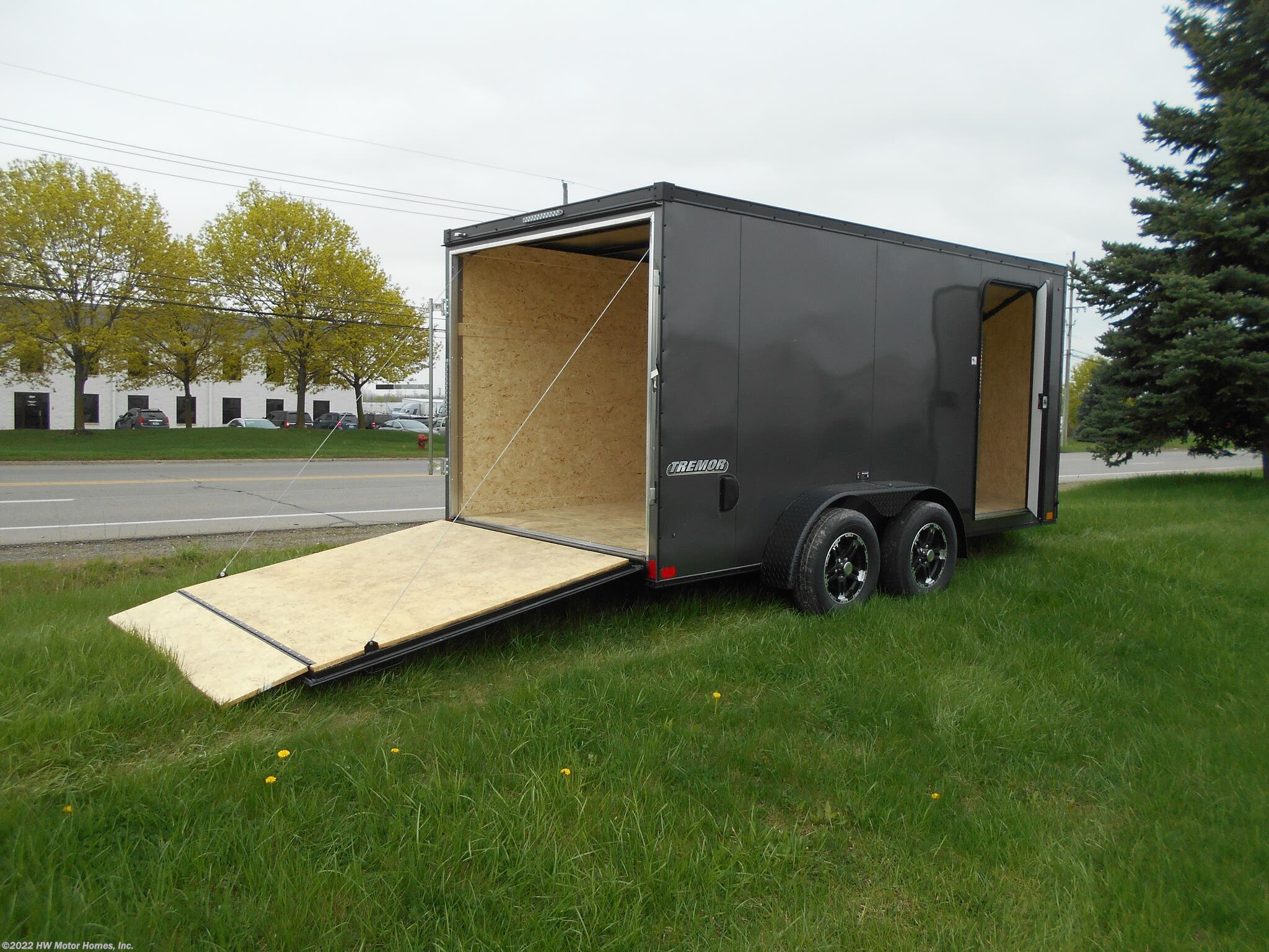 2019 Impact Trailers Rv Tremor 714 Black Out Pkg 7 Tall For Sale