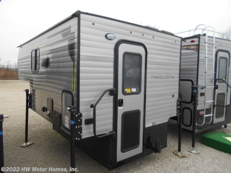 2020 Travel Lite Truck Campers 770RSL  Greyhound Silver