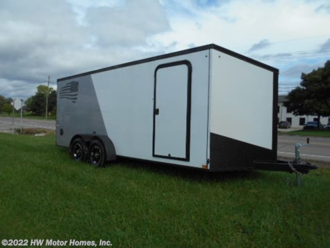 2019 Impact Trailers Shockwave 718  Two Tone