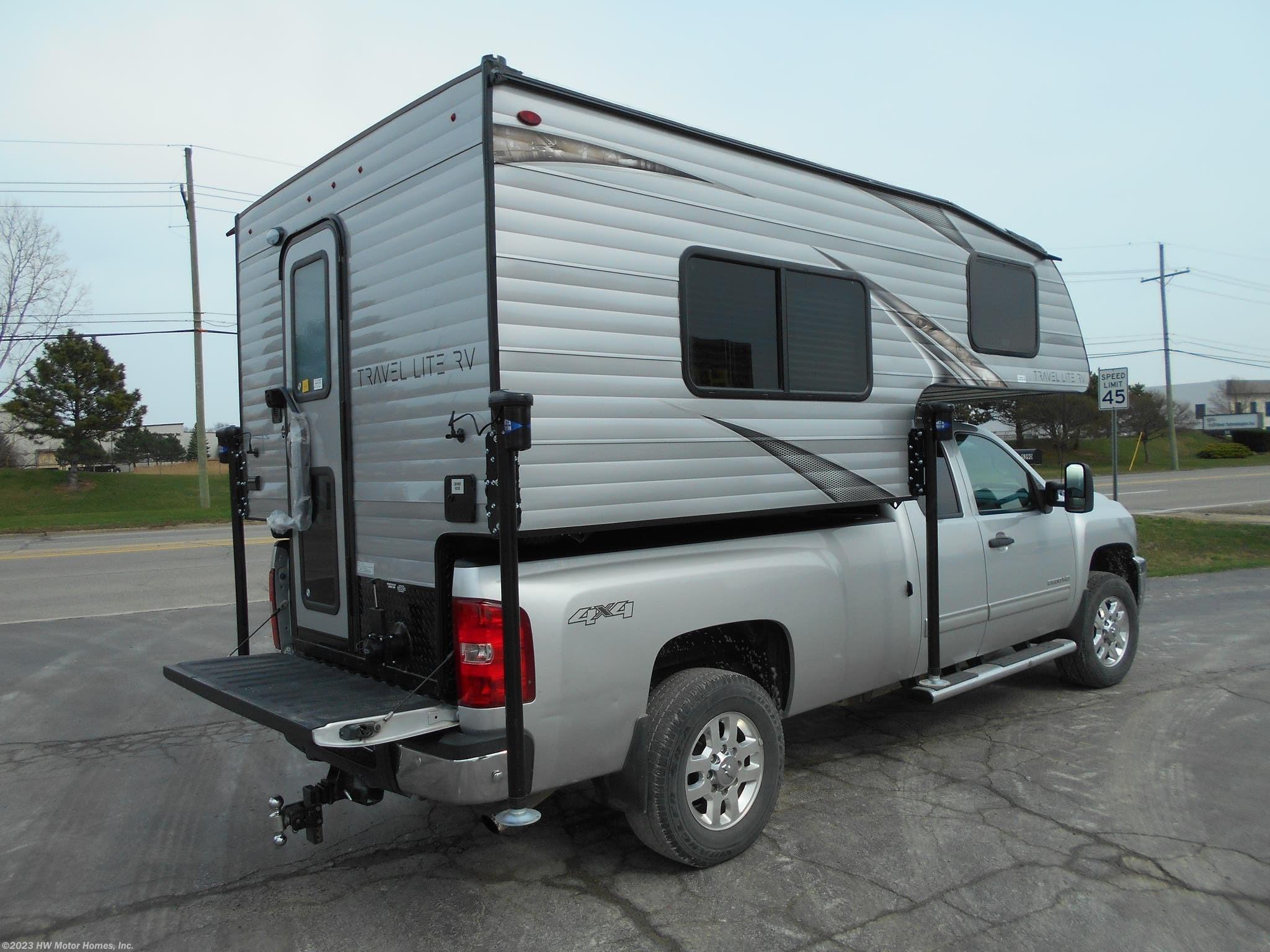 2019 Travel Lite RV Truck Campers 800X Series - Marine Toilet - Sofa  Sleeper for Sale in Canton, MI 48188   N06219