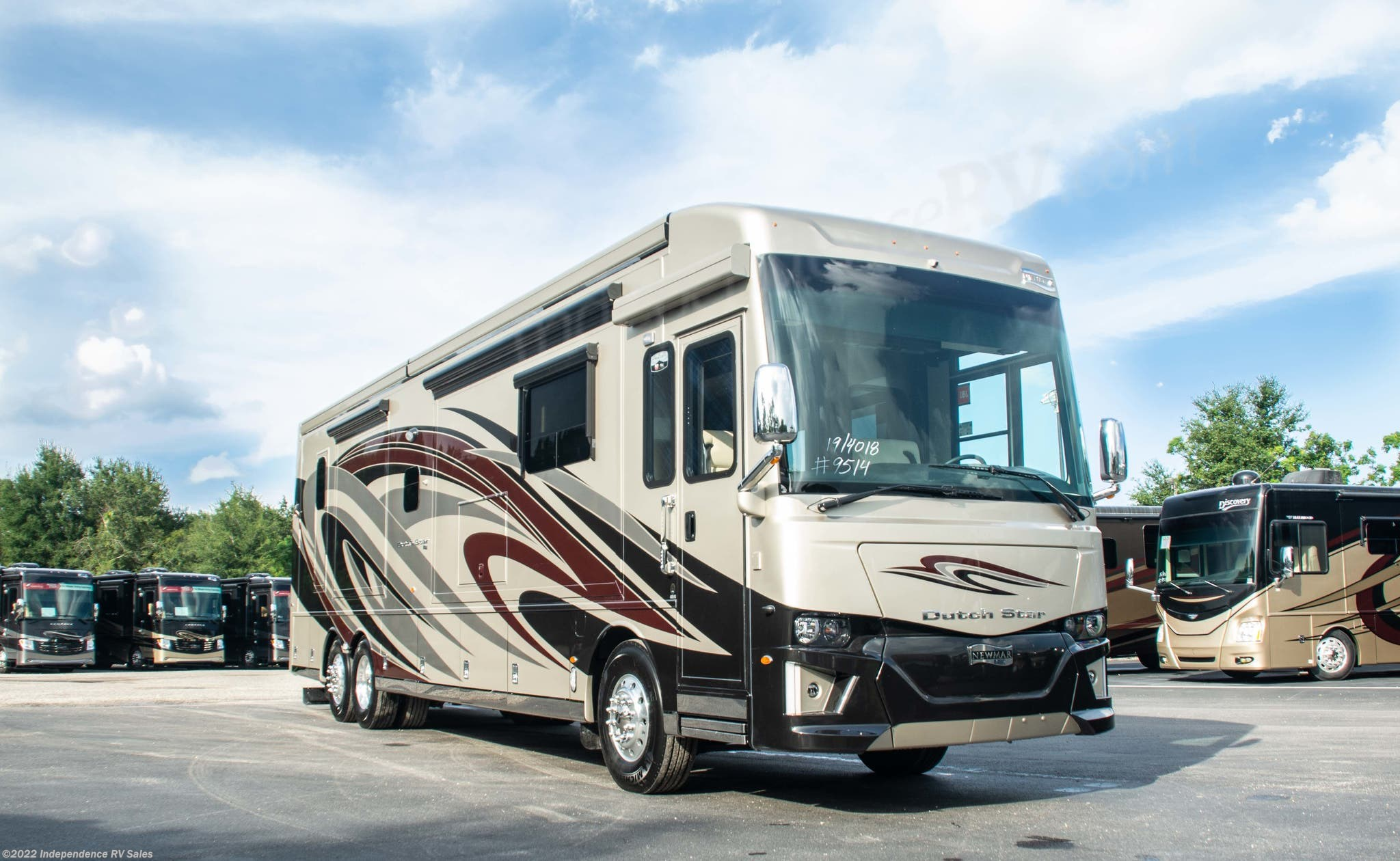 2019 Newmar RV Dutch Star 4018, Freightliner, SOLD for Sale in ... on rv inverter installation diagrams, marine electrical panel diagrams, ezgo golf cart parts diagrams, ezgo gas electrical diagrams,